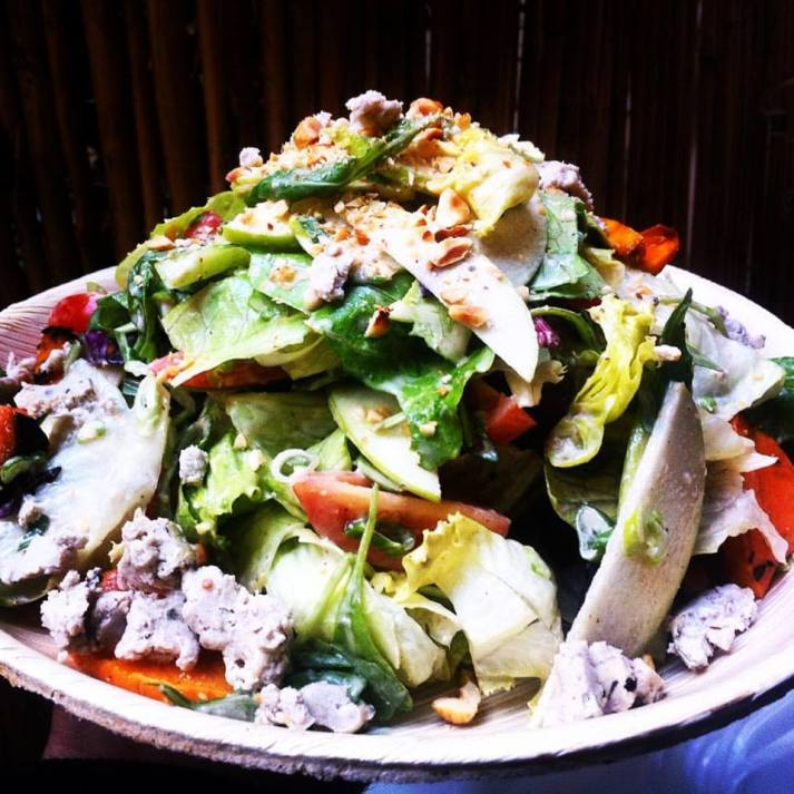 Vegan Blue Cheese Salat, Alegria!!